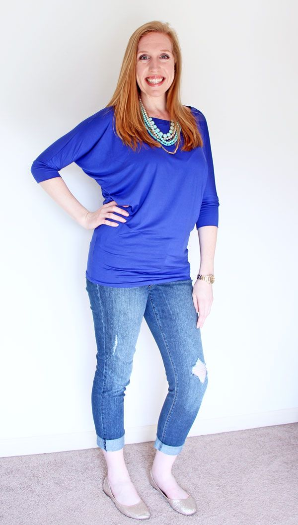 41 Best Everyday Casual Outfit Ideas You Need: 41 HAWTHORN QUEENSLAND DOLMAN