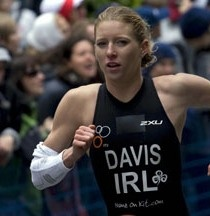 Former Olympic triathlete Emma Davis will lead the pre-race training session for the Bicester Triathlon on behalf of Syncro client On Your Marks Events.