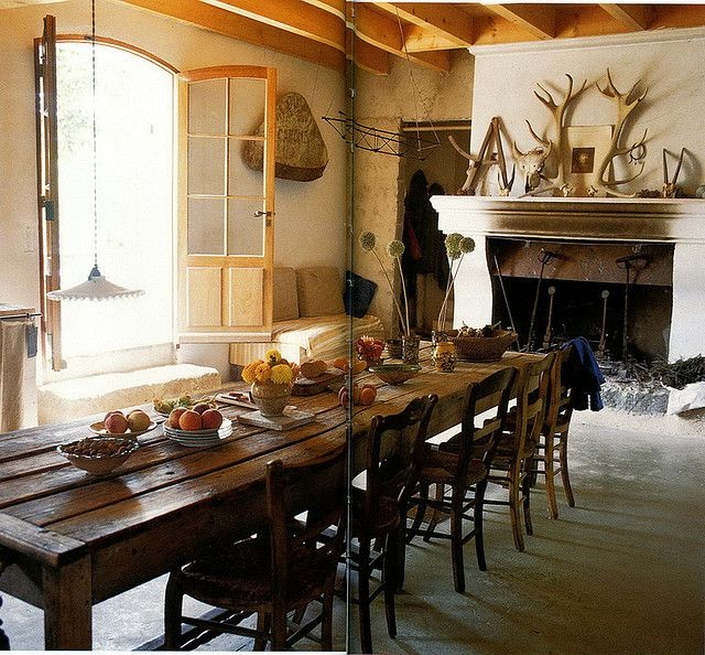 dining room table old world mediterranean pinterest fireplaces window and tables. Black Bedroom Furniture Sets. Home Design Ideas