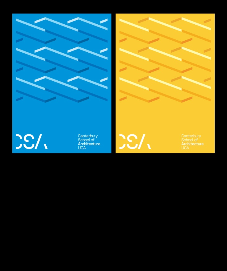 Posters, http://www.graphicalhouse.co.uk/#/projects/canterbury-school-of-architecture