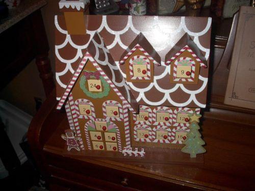 ... , Wooden Gingerbread House Advent Calendar/page/2 | New Calendar