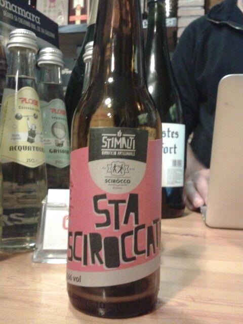 Sta Sciroccata, Stimalti, black ipa, Italy
