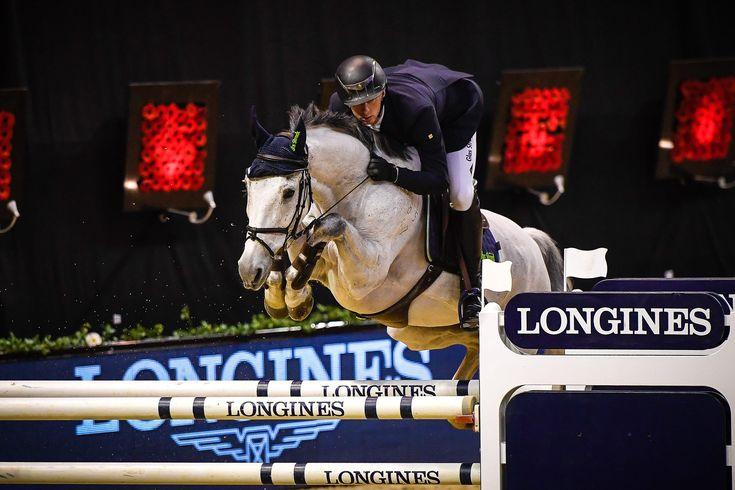 El jinete alemán Felix Hassman y su caballo castrado de 13 años Sl Brazonado (SL Baluarte x Silvestre) ganaron el Prize of Canton Basel-Landchaft en el CSI Basel.