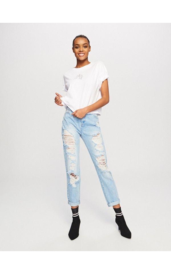 boyfriend jeans damen denim reserved