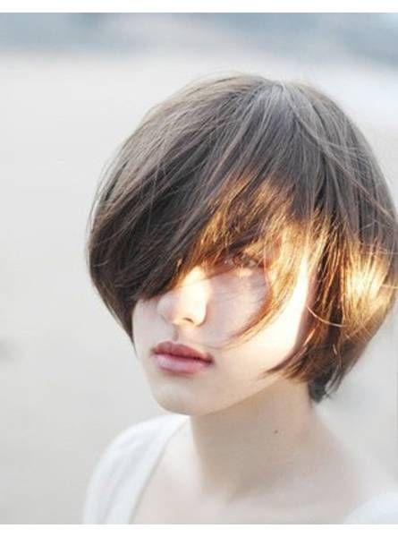 Nouveaux cheveux coupés asiatiques