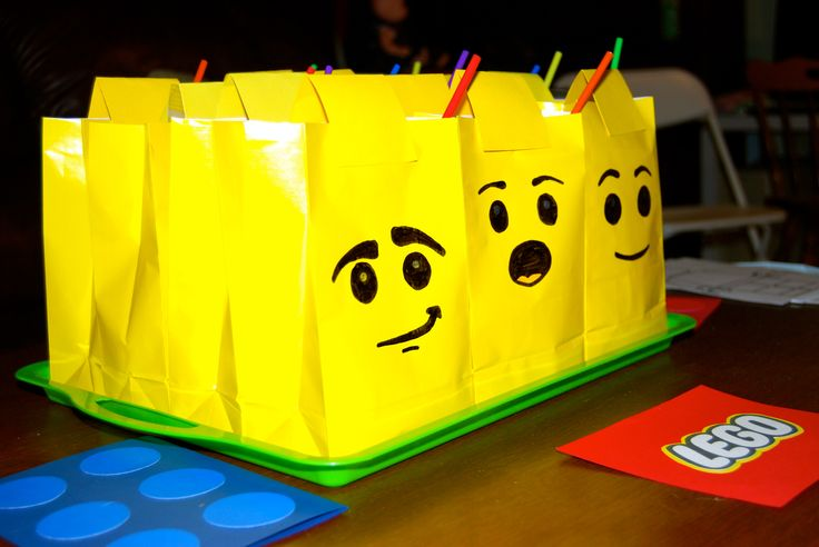 Lego Gift Bags Lego Birthday Gift Bags Lego Birthday