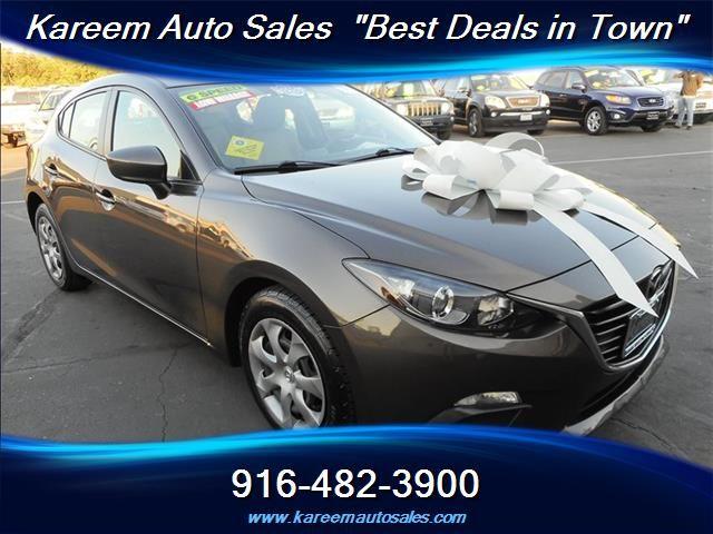 #HellaBargain 2014 Mazda Mazda3 i Sport Hatchback 6 Speed Manual Sacramento: $13,885.00  www.hellabargain.com