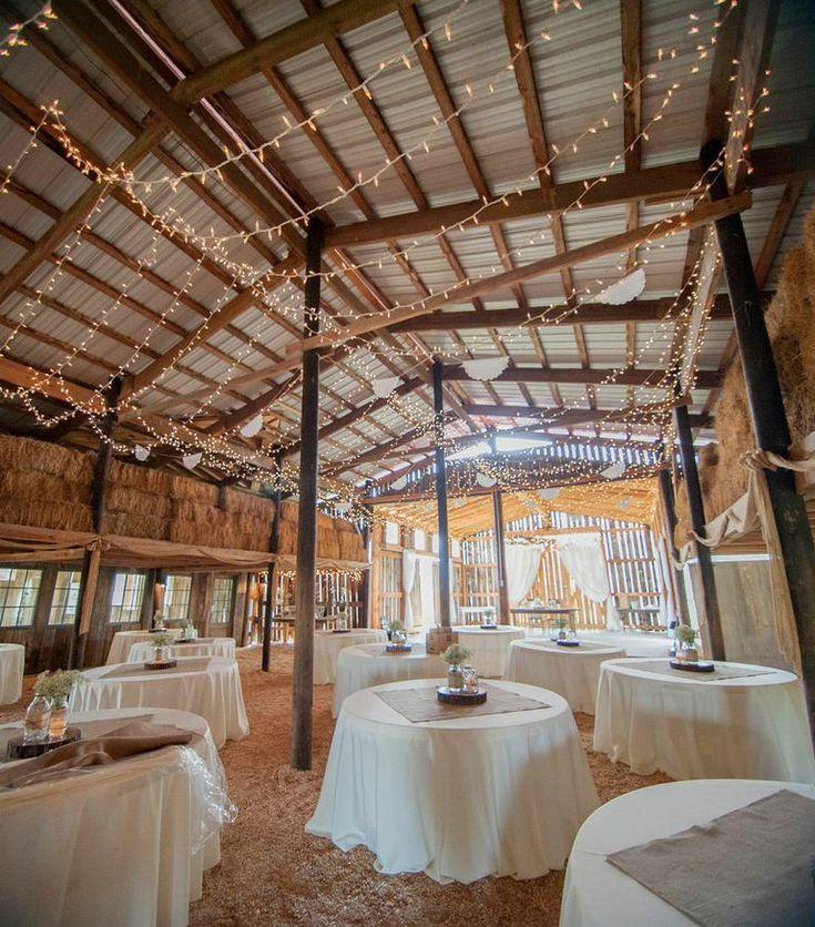 A Rustic Barn Wedding Full Of Romantic Southern Charm