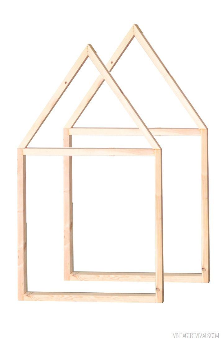 Vintage Revivals | $20 Tiny House IKEA Crib Hack