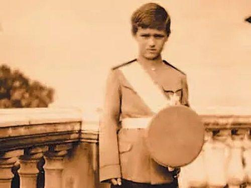 """Tsarevich Alexei Nikolaevich Romanov of Russia.  """"AL"""""""