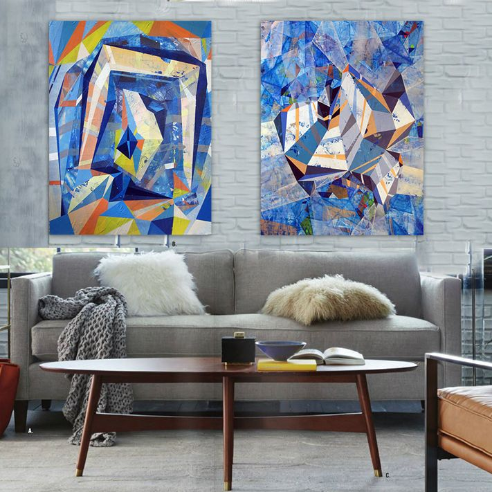 office canvas art. Modern Dada Abstract Concept Of Hand-painted Oil Painting Living Room Bedroom Color Spiral Staircase Office Canvas Wall Art C