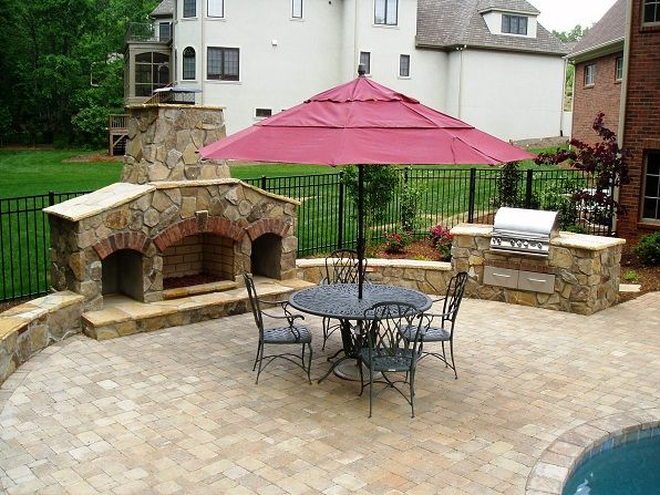 1000 Images About Backyard Fireplaces Firepits Ovens On