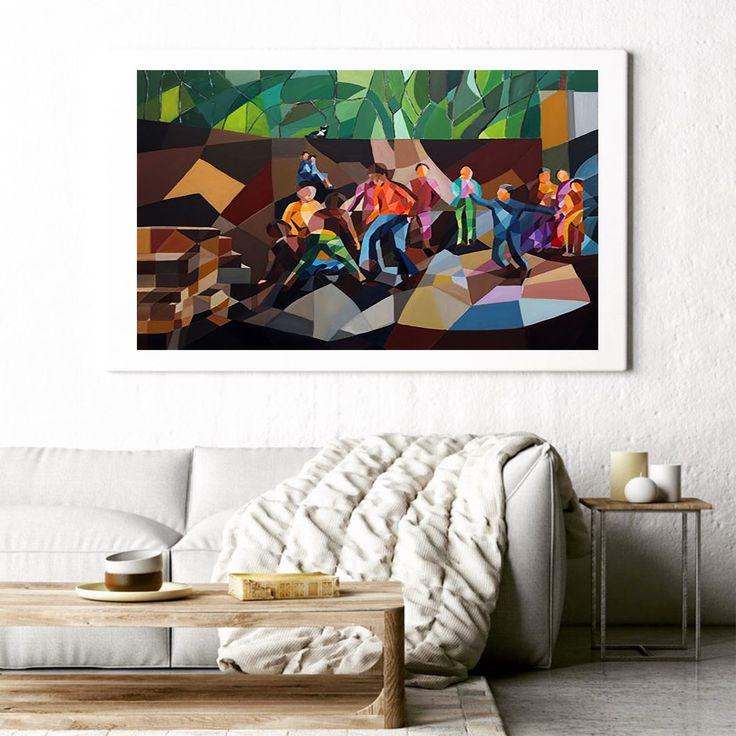 Boş Arsa / Empty Field by Filiz Ural Tuval üzerine #Yağlıboya / #OilonCanvas 130cm x 100cm 6.500₺ / 1.850$  #gallerymak #sanat #art #contemporary #contemporaryart #artcollector #artmarket #artgallery #modernart #instaart #kunst #oilpainting #cubism #instaart #cagdassanat #ig_sanat #istanbul #luxuryprojects #luxuryinteriors #contemporaryartcurator #artcollector #masterpiece #dekorasyon #tasarım #mimari #icmimar #icmimari #mimar