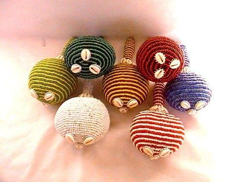 Maracas Elegua Eleke IFA Santeria Orishas Lucumi Afro Cubana Yoruba Babalosha | eBay