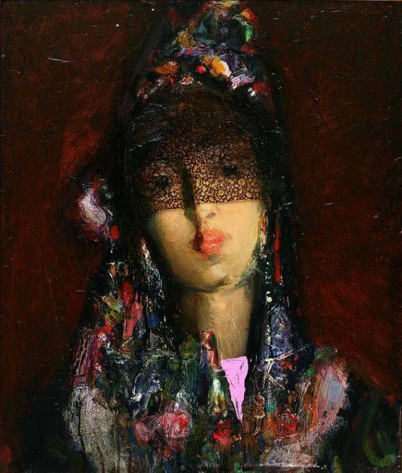 Portrait, автор Sakit Mammadov. Артклуб Gallerix
