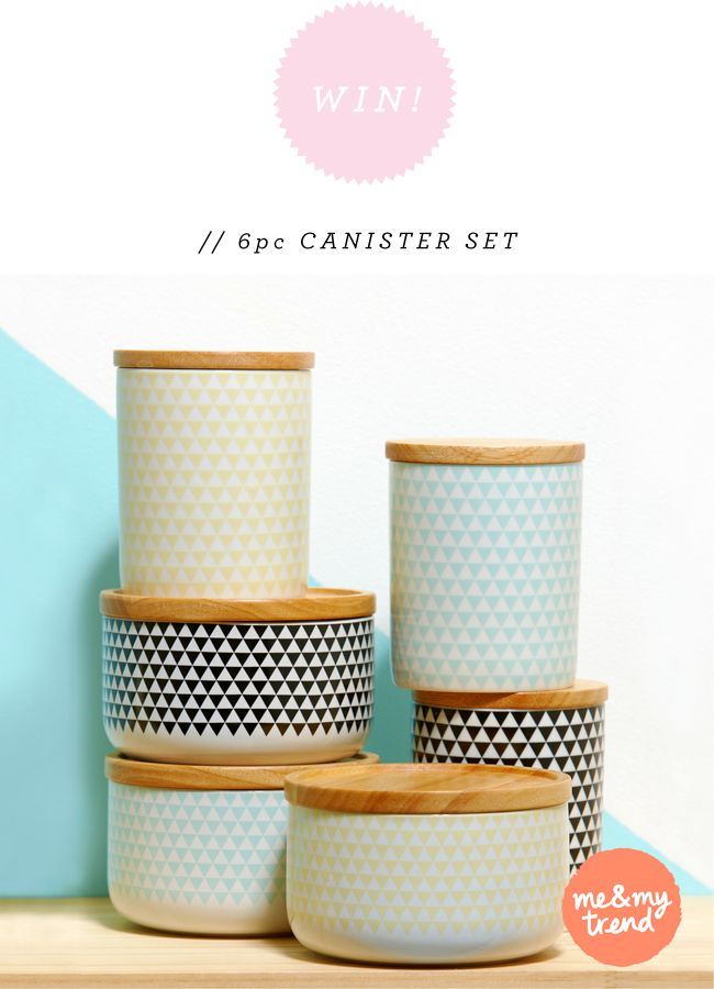 Win 6 Piece Kitchen Canister Set From Me My Trend Open