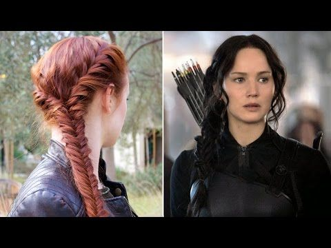 Hunger Games Hair Tutorial Katniss' Mockingjay Battle Braid