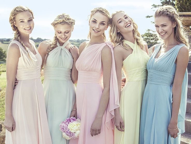 17 Best Ideas About Unique Bridesmaid Dresses On Pinterest