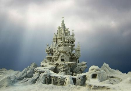 15 Amazing Pictures of Sandcastles You Won't Believe Are Real