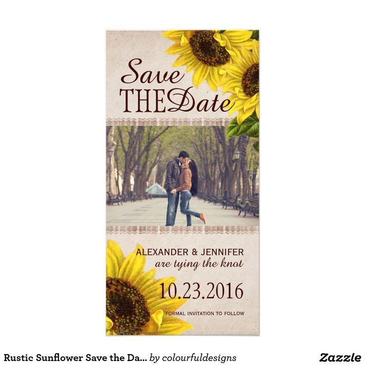 101 best Sunflower Wedding Theme images on Pinterest
