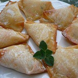 No Fry Crab Rangoon - Allrecipes.com