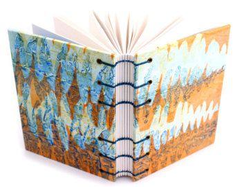 Diario de helechos naranja - uso como diario de oración familiar diario, diario de gratitud, diario de escritura, alimento diario, diario bala, Sketchbook