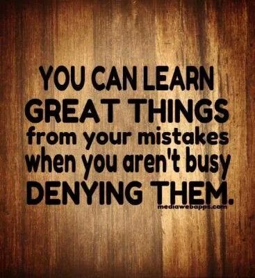 Will You Make Mistakes Learn From Them