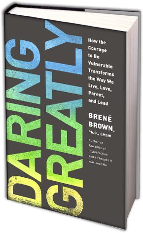 Daring Greatly 3D Book Image Reading, Thinking, and Daring Greatly