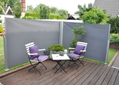 1000+ Ideas About Windschutz On Pinterest | Privacy Screens ... Pflanzkuebel Beton Modern Garten Hochbeet