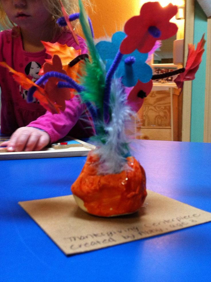 Thanksgiving Centerpiece Child Craft : Best images about mother s day preschool theme on