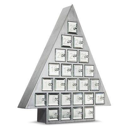Threshold Silver Christmas Tree Advent Calendar Its