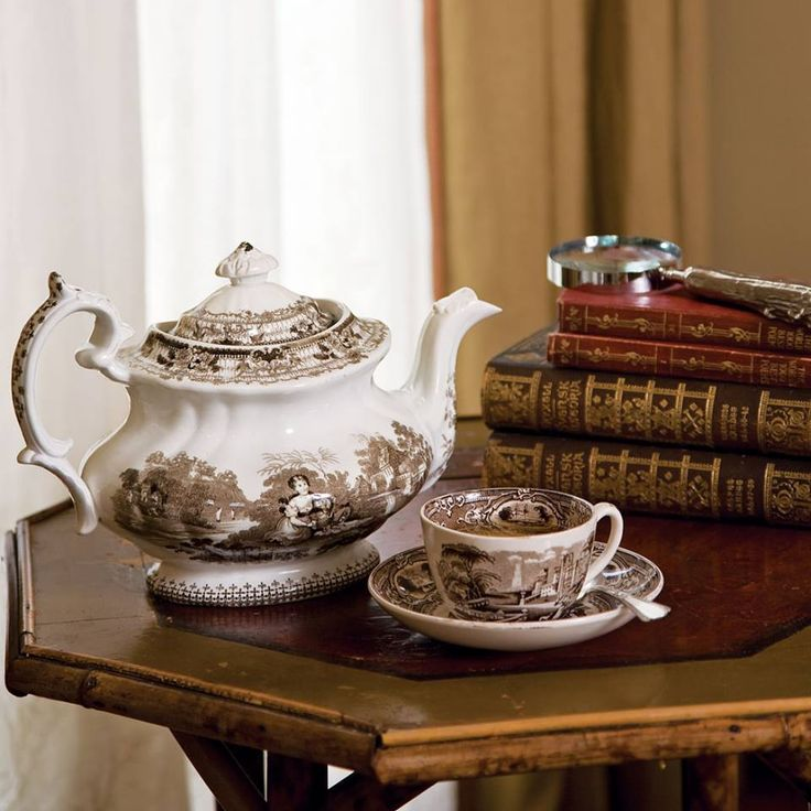 Antique tea time....