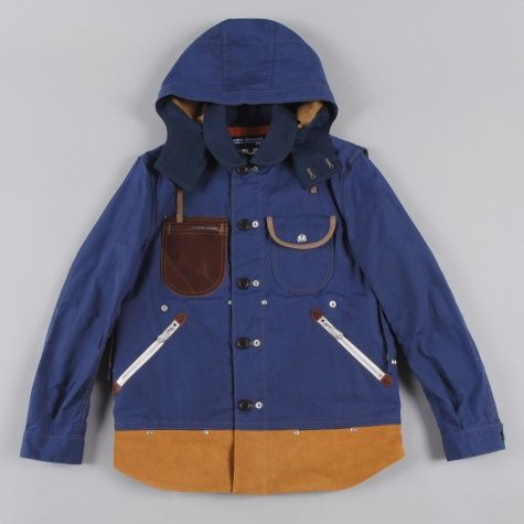 Junya Watanabe Man x Seil Marschall Panel Reversible Work Jacket