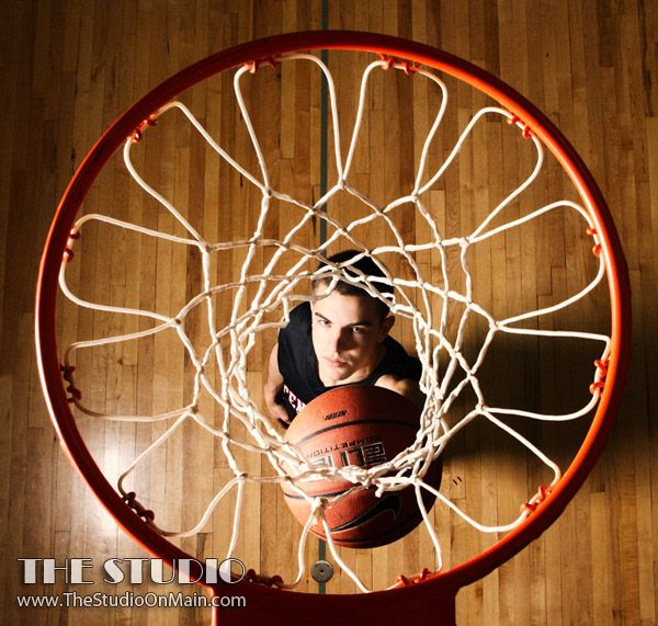 ©The Studio • La Crosse, WI www.TheStudioOnMain.com  Boy • Senior • Pictures • Portraits  Sports • Basketball • Hoop