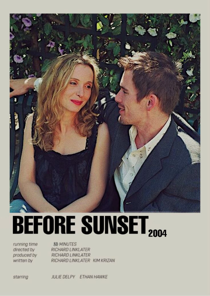Before Sunset Good Comedy Movies Before Sunset Movie Iconic Movie Posters