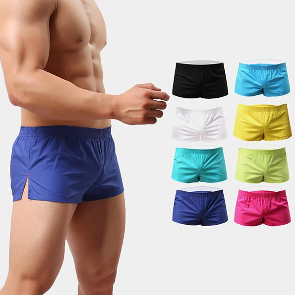 Arrow Pants Casual Sexy Home Low Waist Outerwear Inside Pouch Breathable Boxers Underpants for Men at Banggood