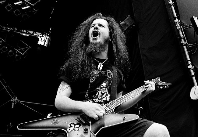 "Dimebag"" Darrell Abbott was an American musician and songwriter. He co-founded Pantera with his brother Vinnie Paul who was also the founder of Damageplan. He is believed to be one of the driving forces behind the groove metal. He was shot dead during the performance on stage on December 8, 2004, at the Alrosa Villa in Columbus, Ohio."