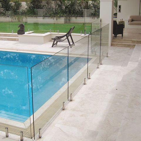 Glass Pool Fence best 25+ glass pool fencing ideas on pinterest | glass fence