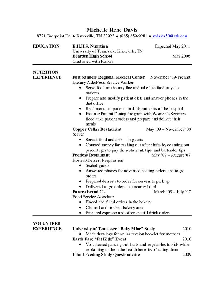 Examples Chef Resumes Resume Executive Junior Dietary Aide Cover Letter  Load Tester Sample For
