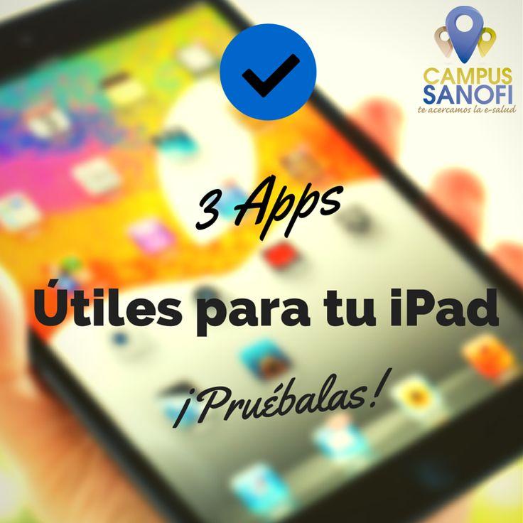 Os recomendamos 3 #apps que hemos probado para #iPad. Echad un vistazo! https://www.campussanofi.es/2014/09/18/tres-aplicaciones-utiles-para-tu-ipad/ #herramientas #consejos #campussanofi