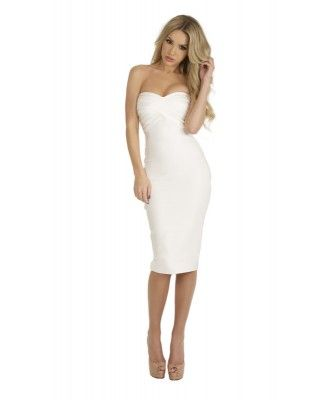 Now purchase online the gorgeous strapless and sexy backless bandage dresses in cheeky strappy styles.