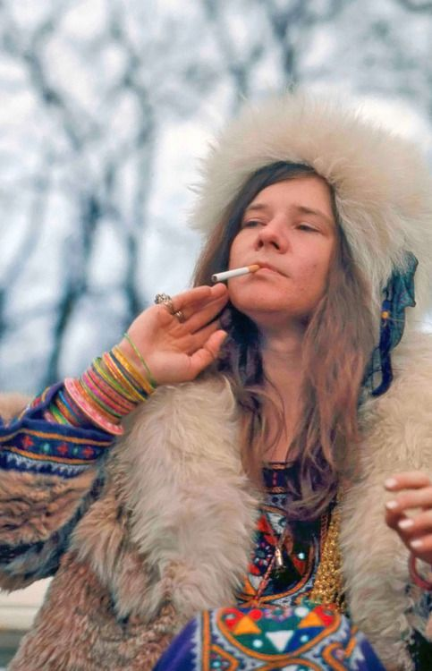Janis Joplin photographed by Jan Persson.