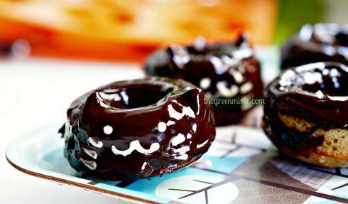 ψητά ντόνατ σοκολατας γατουλα