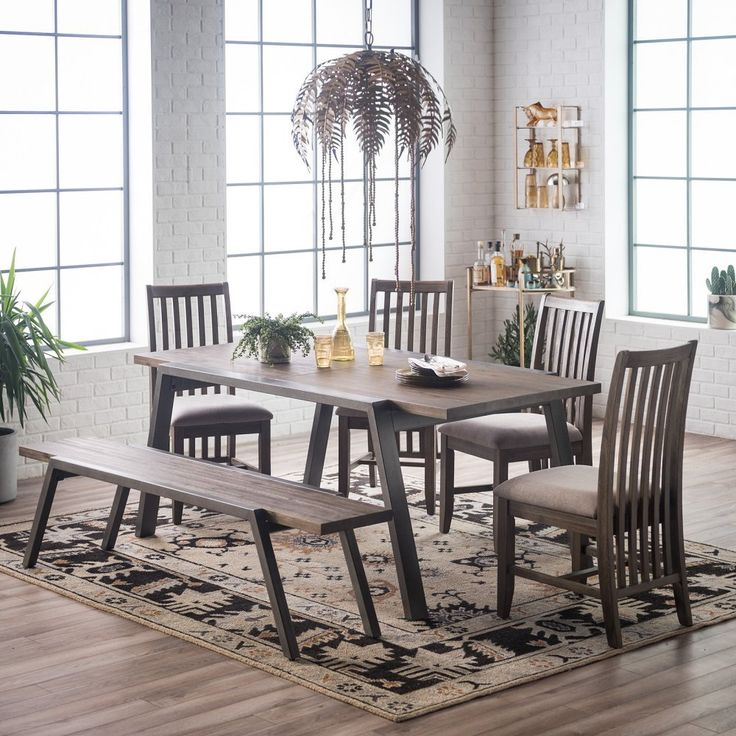 Belham Living Magnus Extension Table with Metal