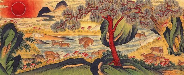 Jackie-Kim-Korean-Folk-Art-Min-Hwa-15.jpg (640×262)