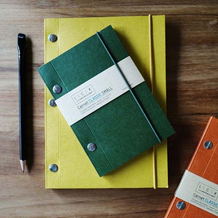 法國手工筆記本L\C\K回歸,兩個尺寸