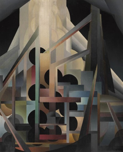 [][][] Bertram Brooker. Ascending Forms.1929. oil on canvas.