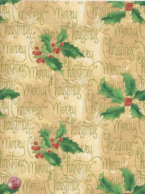 Christmas backing paper
