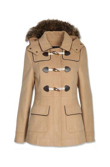 Krótki płaszcz z kapturem - Tally Weijl