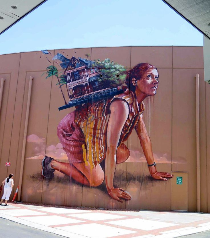 Fintan Magee is currently in Bunbury, Australia where he was invited to paint a new piece for the latest edition of the excellent Re.Discover Street Art Festival.